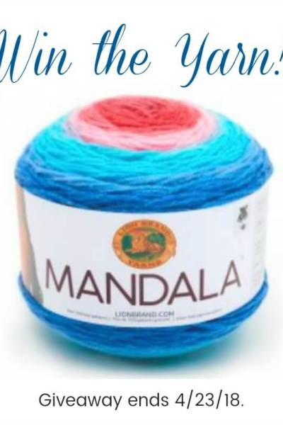 Lion Brand Mandala Yarn – Win the Yarn!
