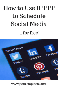 How to Use IFTTT as a Social Media Scheduler