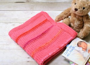 Tunisian Crochet Blanket Pattern … Customize to Any Size!