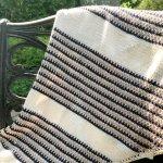 Marina Knit Shawl Pattern – Easy Colorwork Knit Pattern