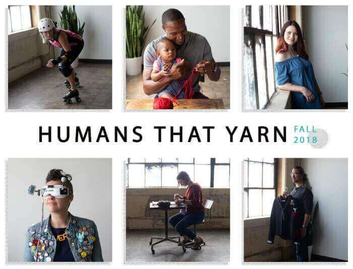 Humans That Yarn Campaign - Yarn + Artist = Yarnist