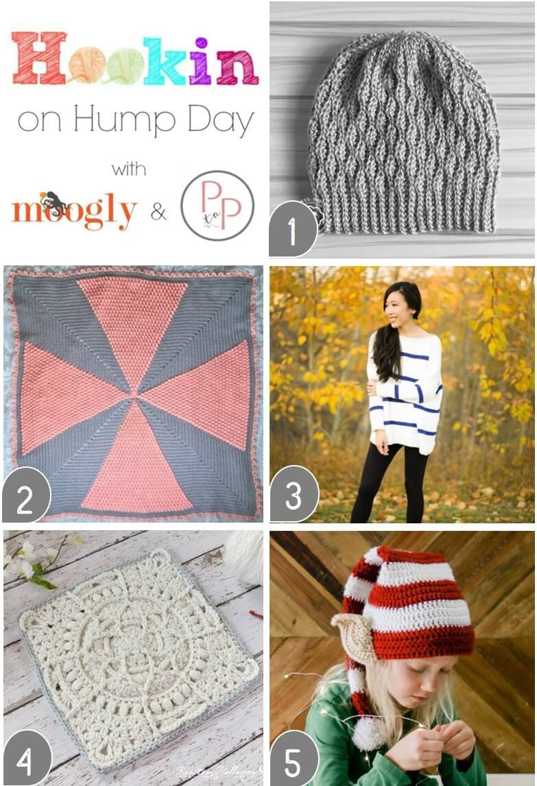 See what's trending in the fiber world at the latest Hookin' on Hump Day! Lots of great crochet and knitting freebies this week!!