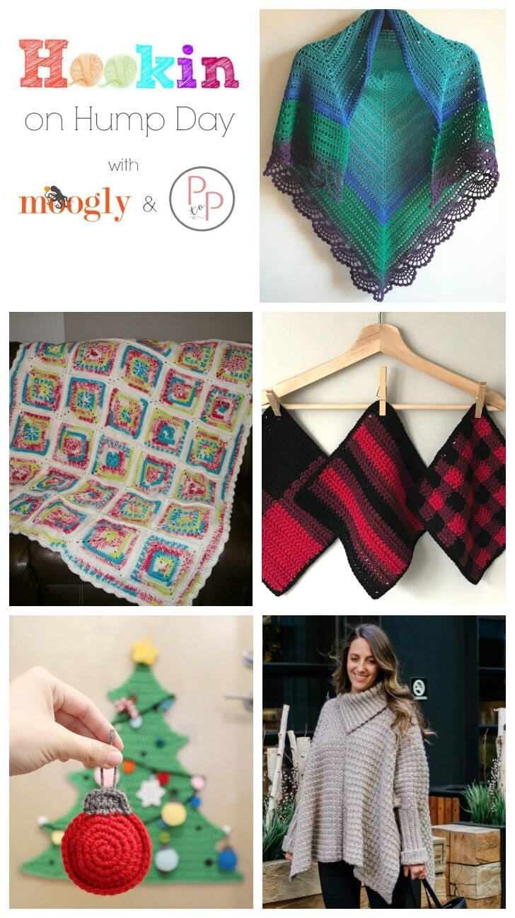 See what's trending in the fiber ... we've got lots of great projects this week on Hookin' on Hump Day!