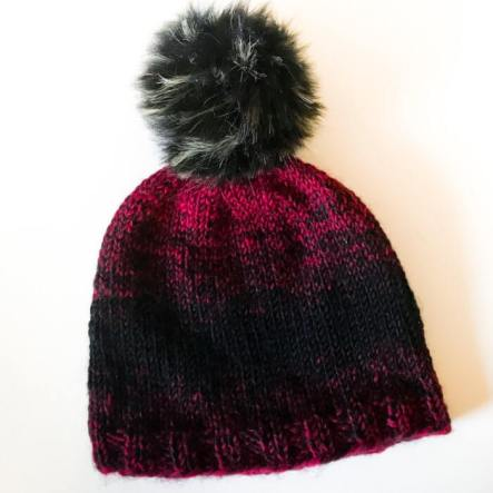 Easy Knit Hat Pattern for Beginners!  b9554f5d4ce