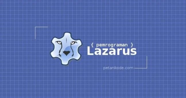 Pemrograman Lazarus
