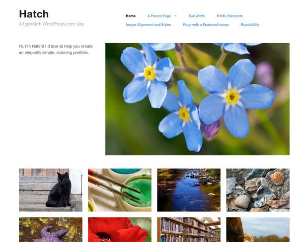 WordPress Makes it Easier for Photogs to Build Sleek and Stylish Portfolios wordpressportfolio 5