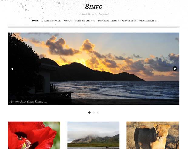 WordPress Makes it Easier for Photogs to Build Sleek and Stylish Portfolios wordpressportfolio 6