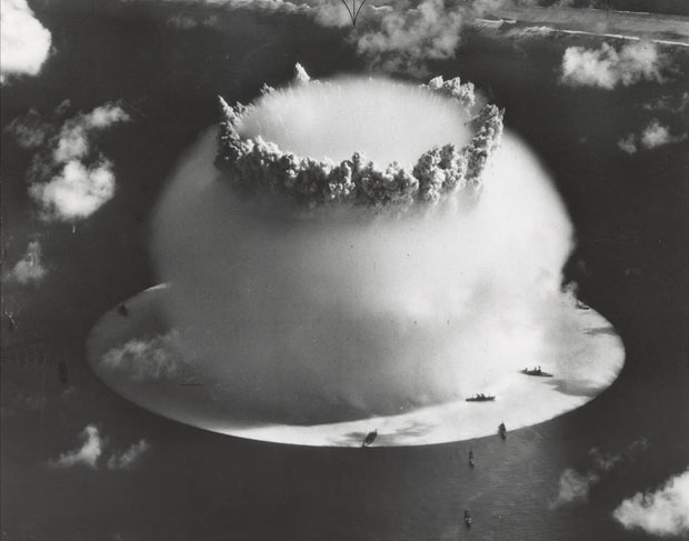 Photos from the Worlds First Underwater Nuclear Explosion crossroadsbaker 6