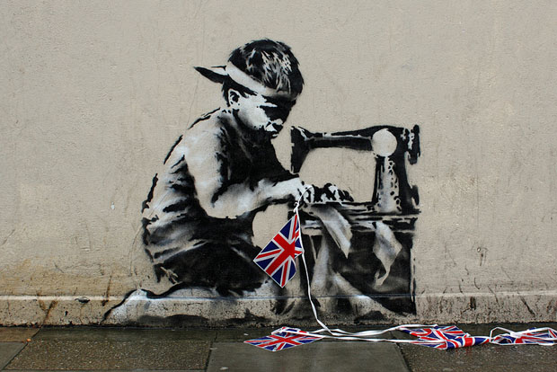 Who Owns Illegal Public Street Art Found on Private Buildings? slavelabour