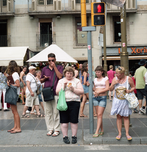 Woman Photographs Herself Receiving Strange Looks in Public