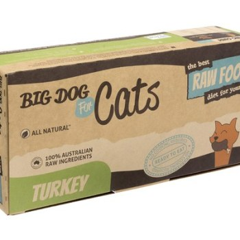 BIG DOG CAT BARF TURKEY 1.38KG