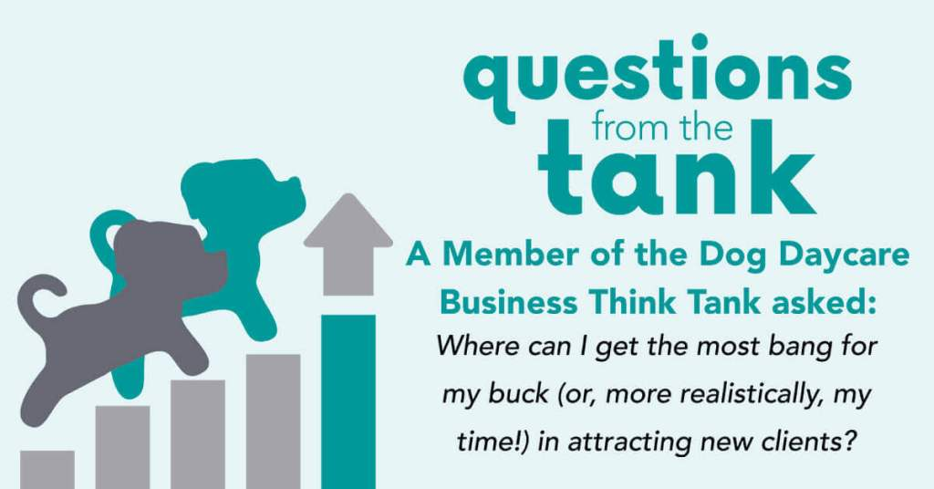 Dog Daycare Business Think Tank: Attracting New Clients