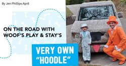 """On the Road with Woof's Play & Stay's Very Own """"Hoodle"""""""