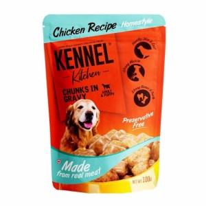 Kennel Kitchen Wet Dog Food Chicken Chunks 100 Gm