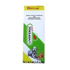 Petcare Livoferol Liver Supplement for Dogs and Cats