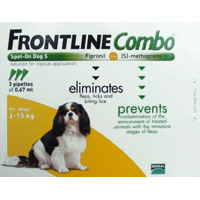 Frontline Plus (Known as Frontline Combo) for Small Dog 3 Doses