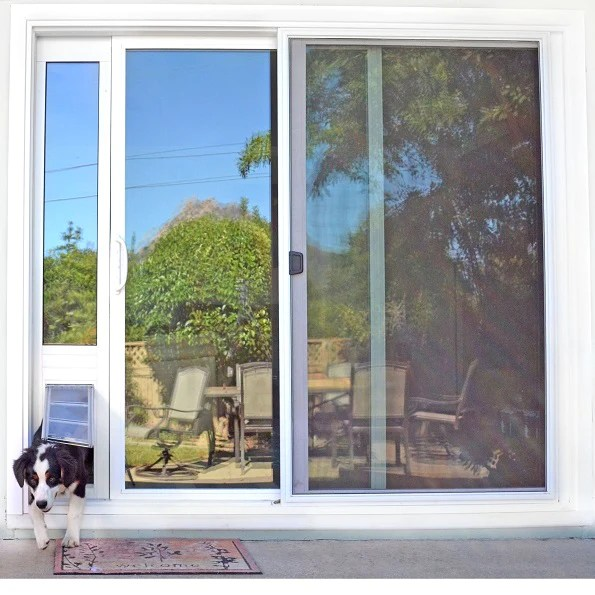 Champion Large Insulated Wall Mount Doggie Door Champion Interior Door  Updates BHG S Best Home Tips And Tricks Pinterest Dark Oak Pet Friendly  Flooring ...