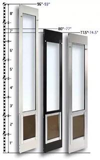 Image Result For Sliding Screen Door With Pet Door Built In