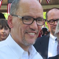 Tom Perez, Chairman of the Democratic National Committee came to the 14th district in support of Lauren Underwood for Congress. Joining him was JB Pritzker, Candidate for IL Governor.