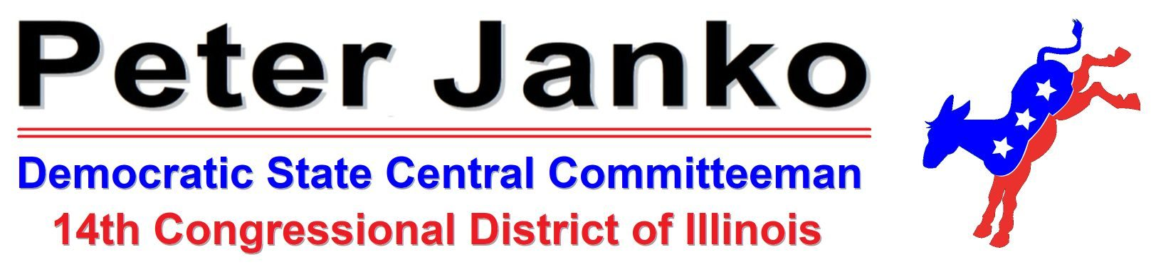Peter Janko – Democratic State Central Committeeman – IL14