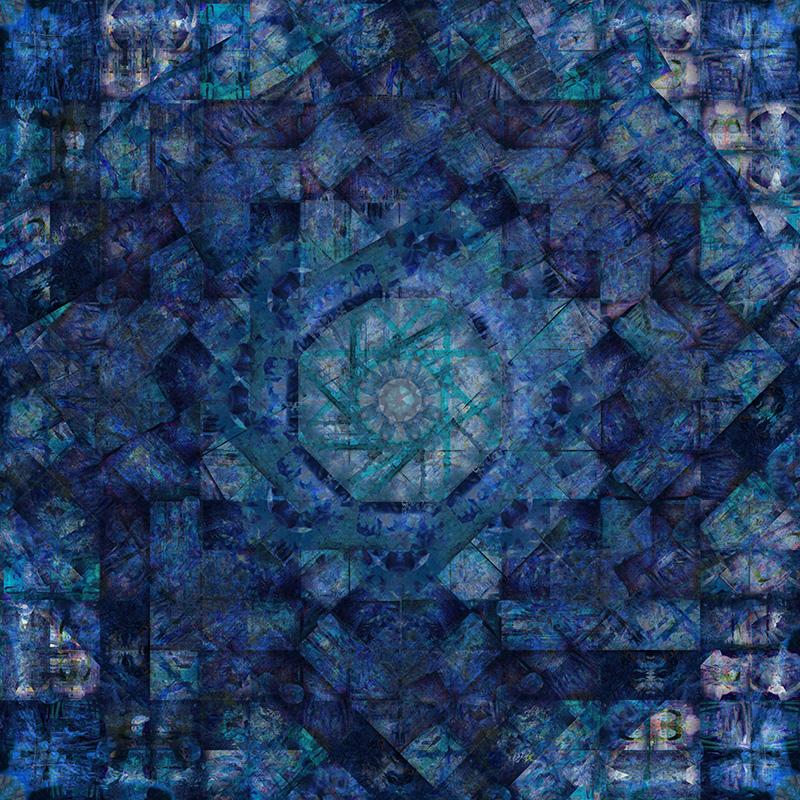 Work7 BLUE version 121x121