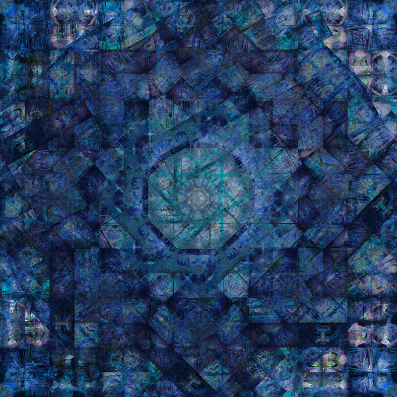 Work7 BLUE version 121x121