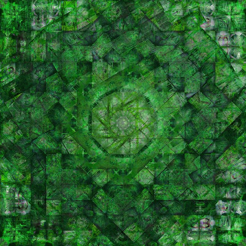 Work 7 GREEN version 121x121