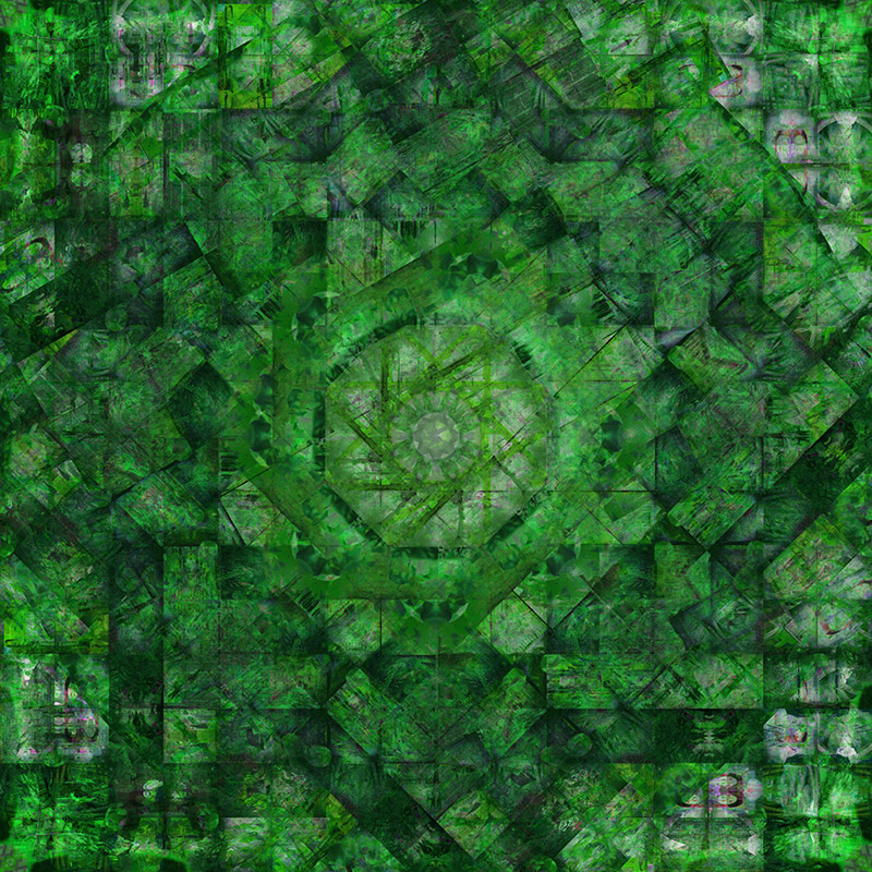 Work 7 GREEN version 121x121