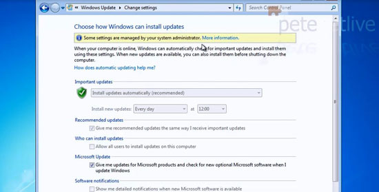 Windows Update Controlled by GPO