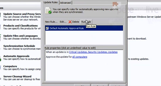 WSUS Auto Approval