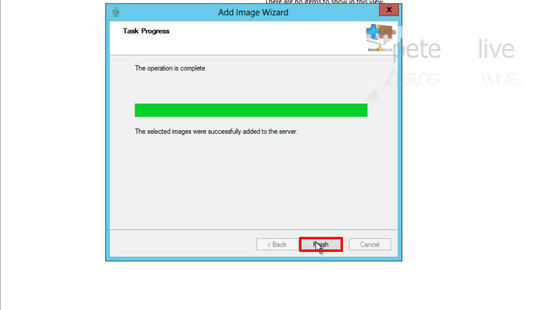 Imported Windows Deployment Services Windows 8