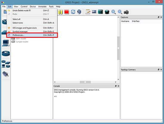 Edit GNS Properties