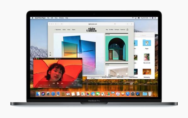 Macbook highsierra file system