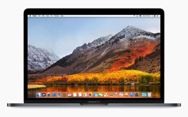 Macbook high sierra hero desktop