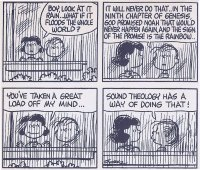 Theology, Peanuts Style
