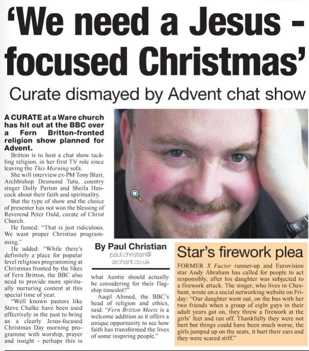 East Herts Herald 13/11/2009