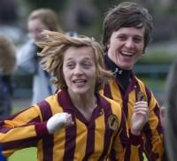 Kacey Barry scores the winning goal
