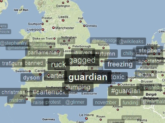 Trafigura Trend Map