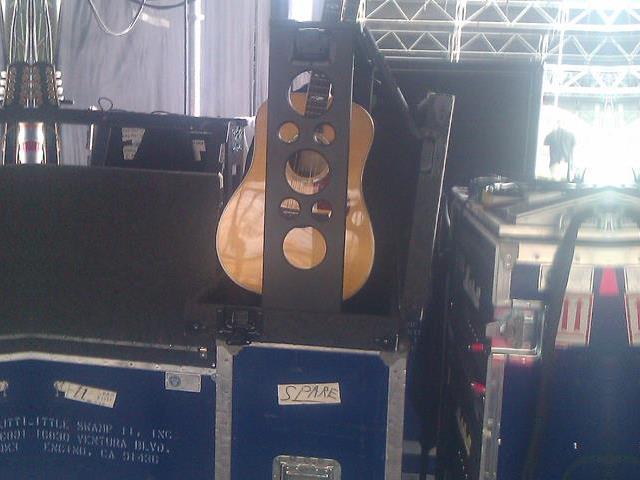 John Fogerthys gitarr.