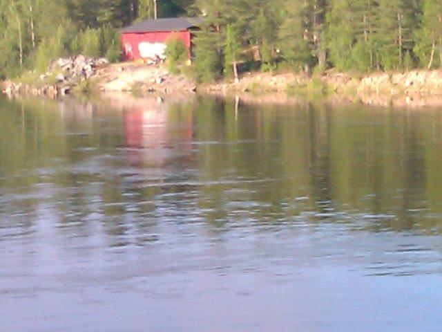 Utsikt över Umeälven från Klabböle