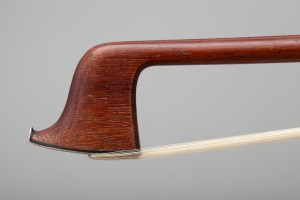 Tubbs Bow presented to Edward Elgar in 1878. Tip photographed by Ian Brearey 17 10 14