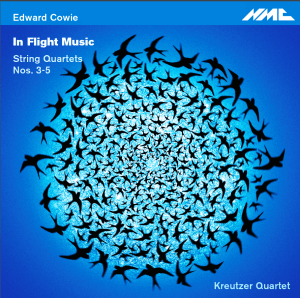 Delighted to announce the upcoming release of our recording of Edward Cowie's Quartets