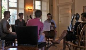 Working with the Ergo Quartet