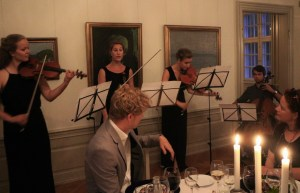 The Alba Quartet play and sing Nielsen