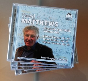 Matthews Solo works. Volume 1 Buy here: