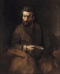 Rembrandt van Rijn, 1606-1669/Saint Bartholomew, 1657