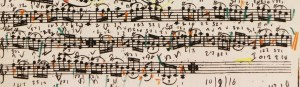 Variation 18. Tartini works very hard to keep within Corelli's tessitura and (more or less) stylistic framework