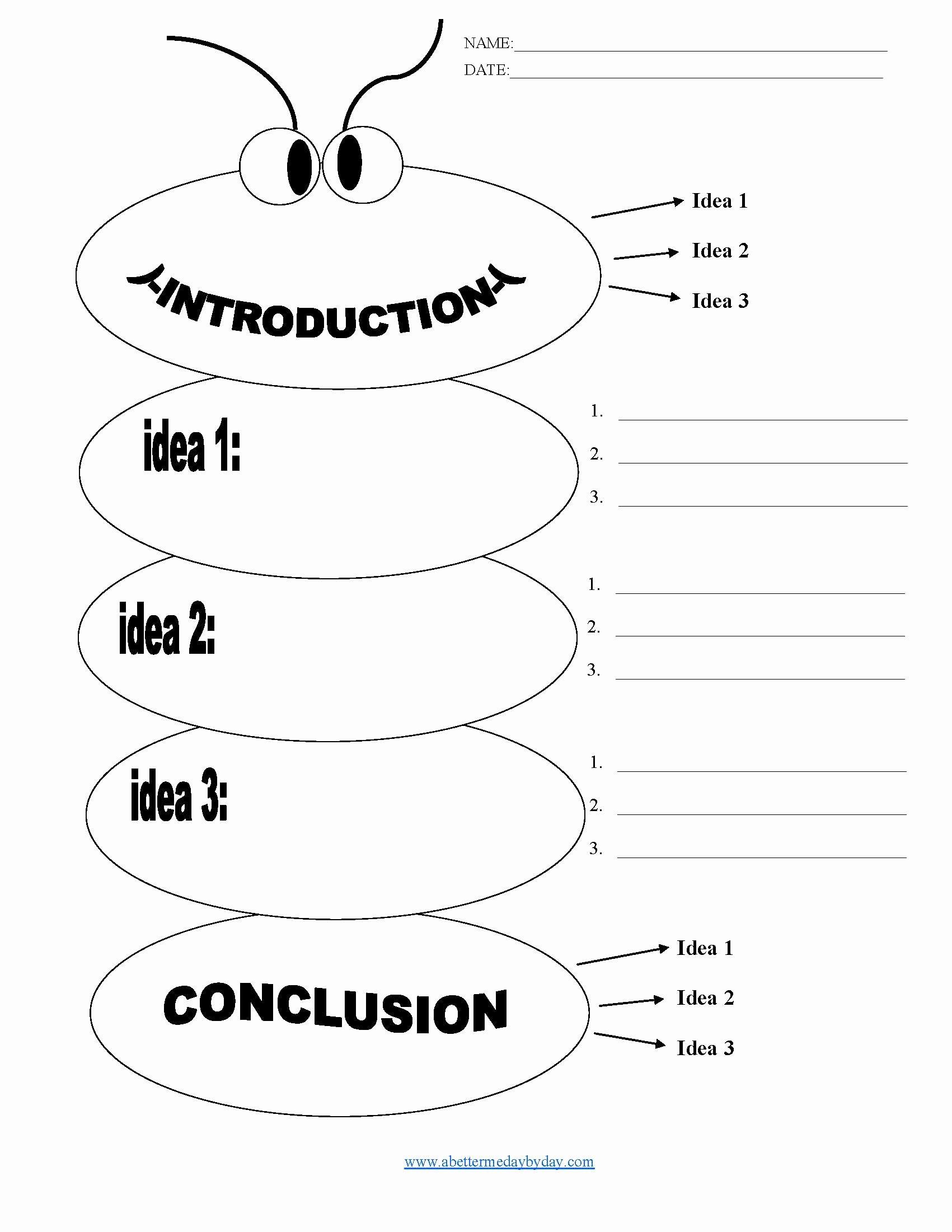 Writing Good Hooks Worksheet