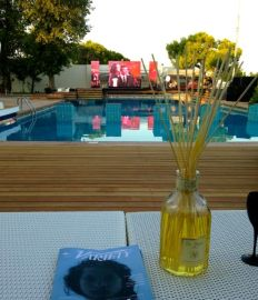 VIP poolside at the Excelsior Hotel - Venice Film Festival.