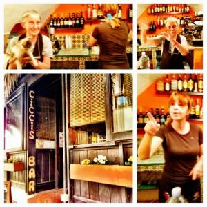 Cicci's Bar, Pantelleria. (photos by Annie Wood)